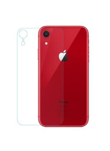 Microsonic iPhone XR (6.1'') Arka Nano Cam Ekran Koruyucu Renksiz